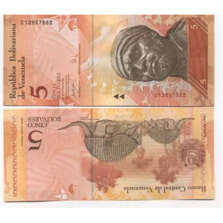 Billet de collection Venezuela Pk N° 89 - 2 Bolivares