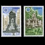 Serie francobolli di Francia N ° 2008/09 Nuevo non linguellato
