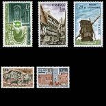Timbres France Série N° 2040/44 neuf sans charnière