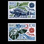 Serie francobolli di Francia N ° 2046/47 Nuevo non linguellato
