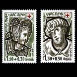 Briefmarken Reihe von France N ° 2070/71 Postfrisch