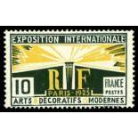 French stamps N° 210 Mint NH