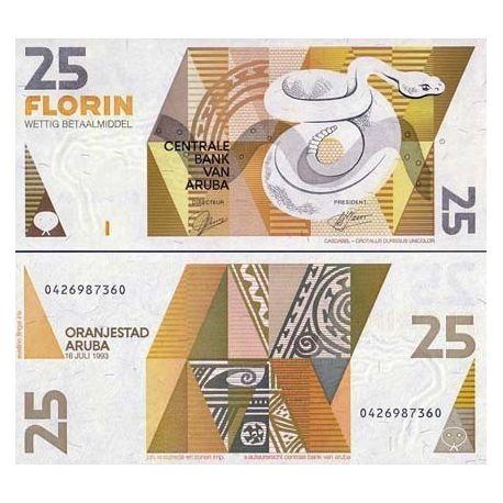 Aruba - Pk N° 12 - Billet de 25 Florin