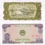 Billet de collection Vietnam Nord Pk N° 81 - 5 Dong