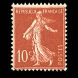 French stamps N° 135 Mint NH
