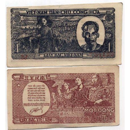 Billets de banque Vietnam Nord Pk N° 16 - 1 Dong