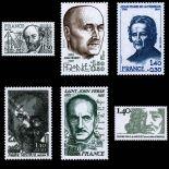 Serie francobolli di Francia N ° 2095/00 Nuevo non linguellato