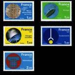 Stamps series of France N° 2126/30 Mint NH