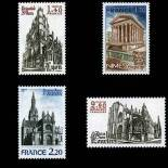 Stamps series of France N° 2132/35 Mint NH