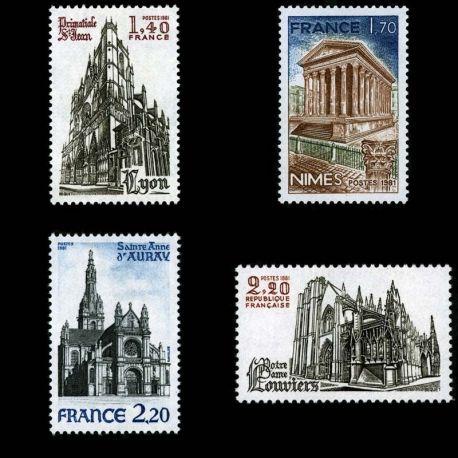 France : N° 2132/35 - Neuf sans charniere **