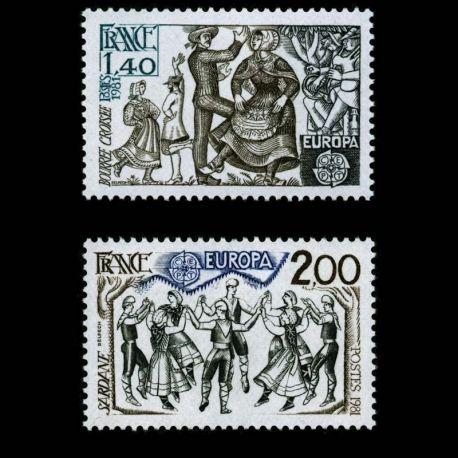 Timbres France Série N° 2138/39 neuf sans charnière