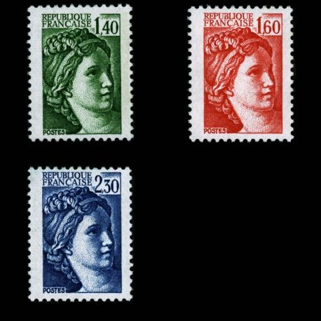 Timbres France Série N° 2154/2156 neuf sans charnière