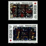 Briefmarken Reihe von France N ° 2175/76 Postfrisch