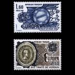 Stamps series of France N° 2207/08 Mint NH