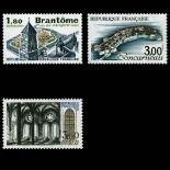Serie Sellos de Francia N ° 2253/2255 nuevos sin charnela
