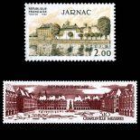Briefmarken Reihe von France N ° 2287/2288 Postfrisch