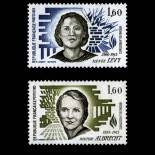 Serie francobolli di Francia N ° 2293/2294 Nuevo non linguellato