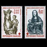Serie francobolli di Francia N ° 2295/96 Nuevo non linguellato
