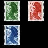 Serie francobolli di Francia N ° 2318/2320 Nuevo non linguellato