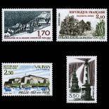 Serie francobolli di Francia N ° 2323/26 Nuevo non linguellato