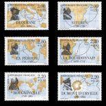 Timbres France Série N° 2517/22 neuf sans charnière
