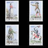 Briefmarken Reihe von France N ° 2592/95 Postfrisch