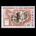 Sellos franceses N ° 1985 nuevos sin charnela