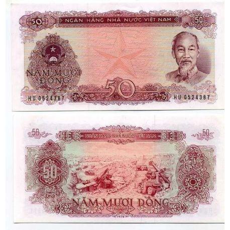 Vietnam Nord - Pk N° 84 - Billet de 50 Dong