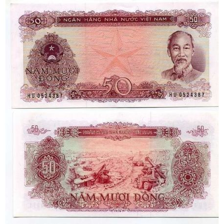 Billet de banque Vietnam Nord Pk N° 84 - 50 Dong