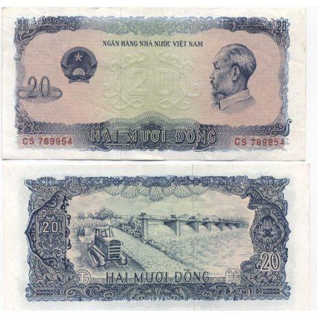 Vietnam Nord - Pk N° 83 - Billet de 20 Dong