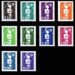 Briefmarken Reihe von France N ° 2617/26 Postfrisch