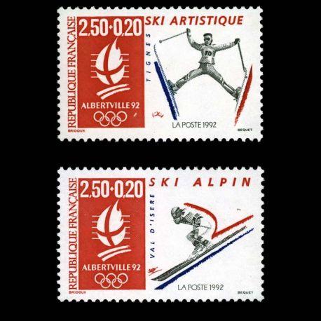 Timbres France Série N° 2709/2710 neuf sans charnière