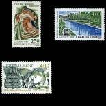 Stamps series of France N° 2763/2765 Mint NH