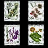 Serie francobolli di Francia N ° 2766/69 Nuevo non linguellato