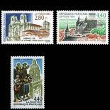 Serie francobolli di Francia N ° 2825/2827 Nuevo non linguellato
