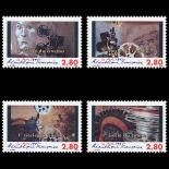 Serie francobolli di Francia N ° 2919/22 Nuevo non linguellato