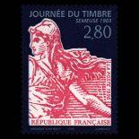 Francobolli francesi N ° 2991 Nuevo non linguellato