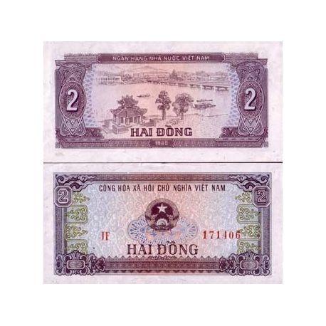 Vietnam Nord - Pk N° 85 - Billet de 2 Dong