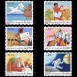 Timbres France Série N° 3156/61 neuf sans charnière