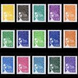 Timbres France Série N° 3443/57 neuf sans charnière