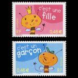 Timbres France Série N° 3463/3464 neuf sans charnière