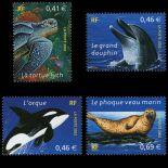 Timbres France Série N° 3485/88 neuf sans charnière