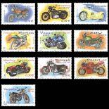 Serie francobolli di Francia N ° 3508/3517 Nuevo non linguellato