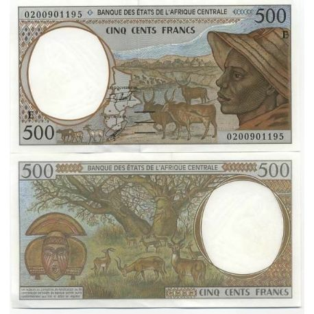 Central Africa Cameroon - Pk # 201 - Ticket 500 Francs