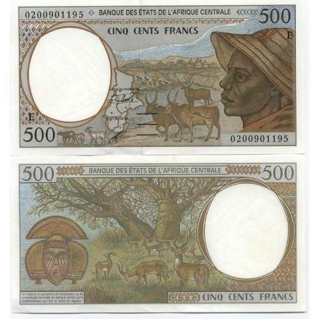 Afrique Centrale Cameroun - Pk N° 201 - Billet de 500 Francs