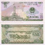 Banknoten Vietnam Pick Nummer 92 - 5 Dong