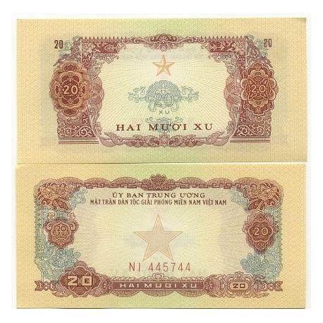 South Vietnam - Pk No. 2 - 20 Dong ticket