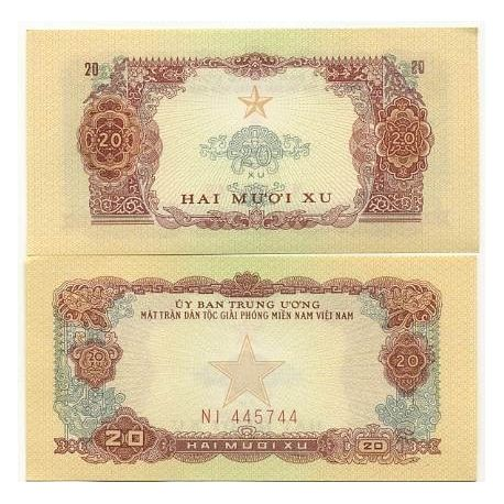 Billets de collection Billet de collection Vietnam Sud Pk N° 2 - 20 Dong Billets du Vietnam Sud 8,00 €