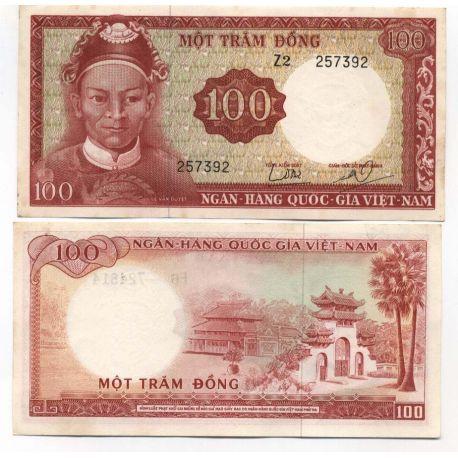 Vietnam Sud - Pk N° 19 - Billet de 100 Dong