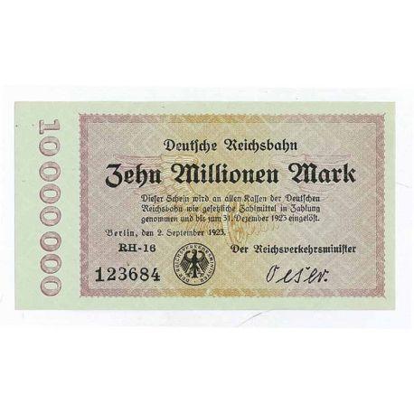 Billet de banque Allemagne Pk N° 1014 - 10 Millions Mark